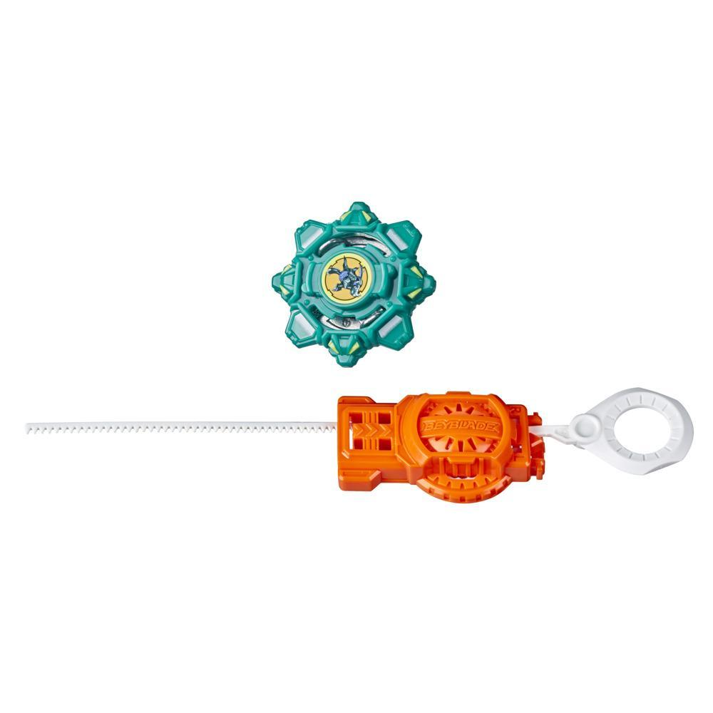 Beyblade Burst Rise Hypersphere Draciel F Starter Pack -- Defense Type Battling Game Top and Launcher Toy