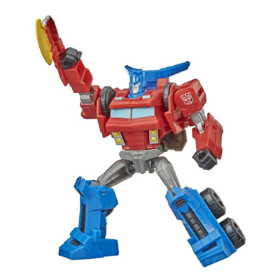 Transformers Toys Bumblebee Cyberverse Adventures Action Attackers Warrior Class Optimus Prime Action Figure, 5.4-inch