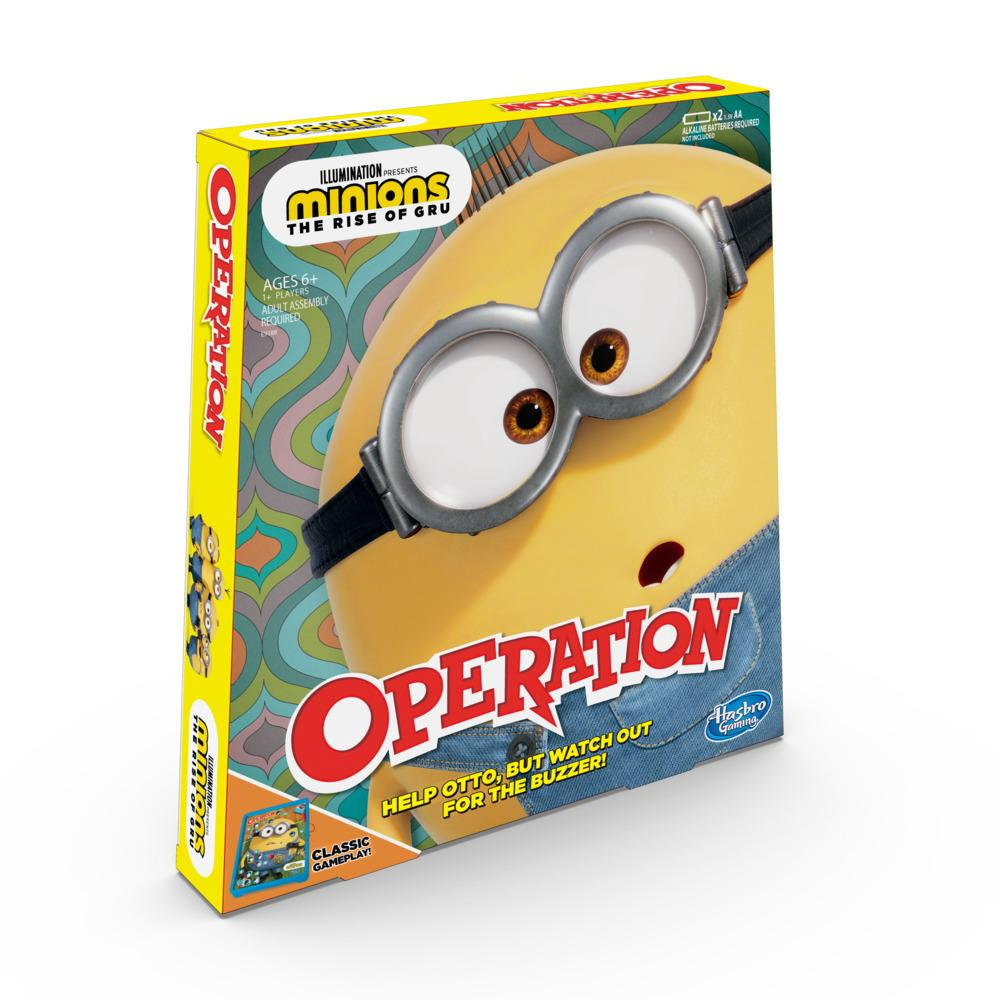 Operation Game: Minions: The Rise of Gru Edition Board Game for Kids