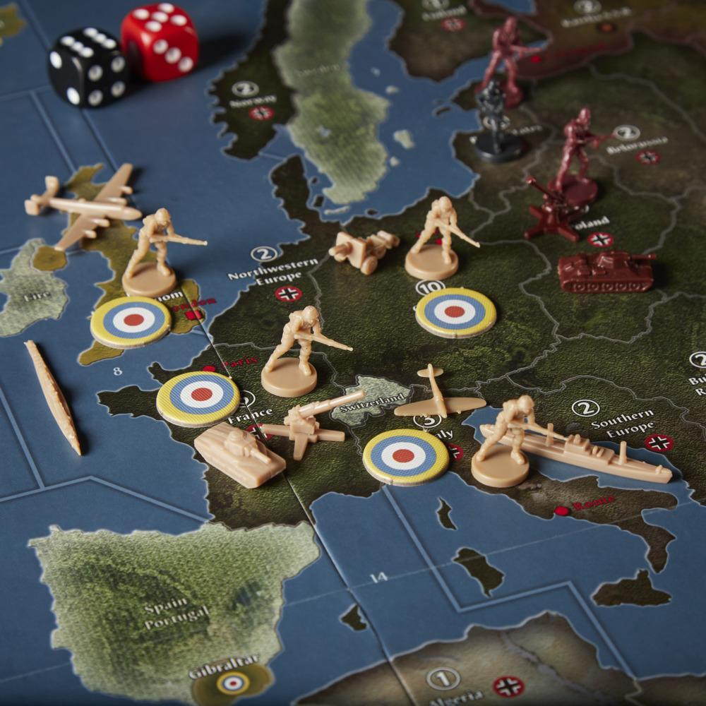 Avalon Hill Axis & Allies 1942 Second Edition WWII Strategy Board Game, Ages 12 and Up, 2-5 Players