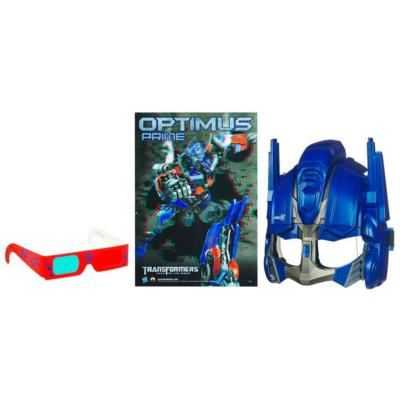 TRANSFORMERS DARK OF THE MOON ROBO POWER CINE-MASK OPTIMUS PRIME