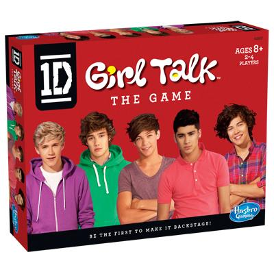 One Direction GIRL TALK The Game