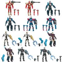MARVEL IRON MAN 3 Avengers Initiative ASSEMBLERS Interchangeable Armor System Figures 12 Pack Value Pack