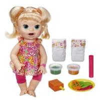 Baby Alive Super Snacks Snackin' Sara - Blonde Hair