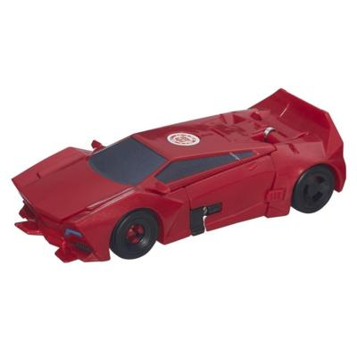 Transformers Robots in Disguise 1-Step Changers Patrol Mode Sideswipe Figure
