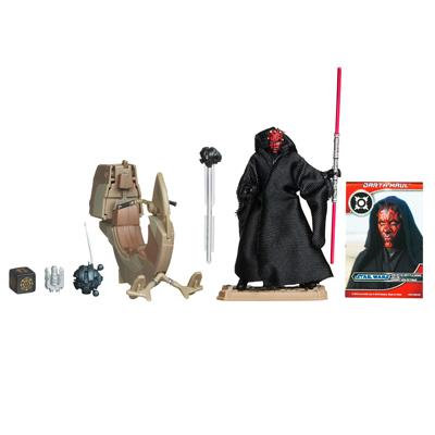 STAR WARS SITH Speeder Vehicle with DARTH MAUL Figure