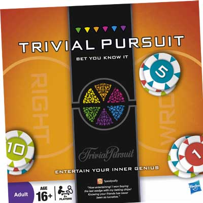 TRIVIAL PURSUIT: Bet You Know It Edition
