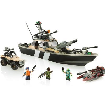 Kre-O G.I. Joe Thunderwave Jet Boat Construction Set