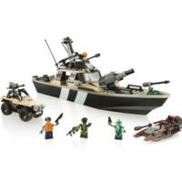 Kre-O G.I. Joe Thunderwave Jet Boat Construction Set