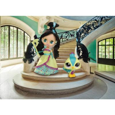 LITTLEST PET SHOP - BLYTHE Loves LITTLEST PET SHOP - COLORFULLY CUTE Collection – GORGEOUS IN GREEN Set