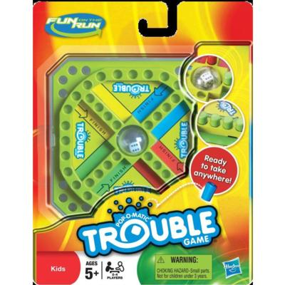 TROUBLE FUN ON THE RUN Game