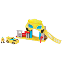 TRANSFORMERS RESCUE BOTS PLAYSKOOL HEROES BUMBLEBEE RESCUE GARAGE Playset