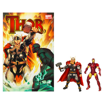 Marvel Universe Marvel's Greatest Battles Comic Packs: Thor and Iron Man