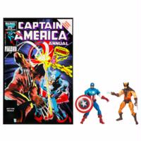 Marvel Universe Marvel's Greatest Battles Comic Packs: Wolverine and Captain America