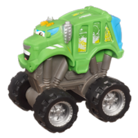 TONKA CHUCK & FRIENDS ROWDY THE MONSTER GARBAGE TRUCK Vehicle