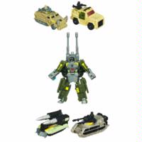 TRANSFORMERS POWER CORE COMBINERS: BOMBSHOCK with COMBATICONS