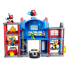 TRANSFORMERS RESCUE BOTS PLAYSKOOL HEROES FIRE STATION PRIME Playset