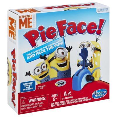 Pie Face Game Despicable Me Minion Made Edition