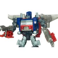 TRANSFORMERS DARK OF THE MOON CYBERVERSE Commander Class OPTIMUS PRIME