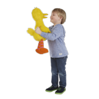 Playskool Sesame Street Big Bird Jumbo Plush