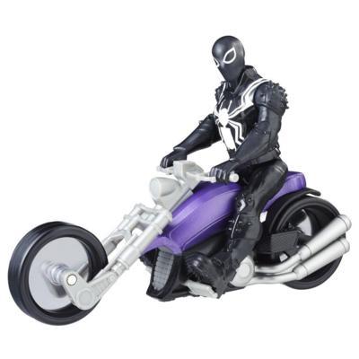 Marvel Spider-Man: Agent Venom with Symbiote Cycle
