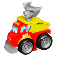 TONKA CHUCK & FRIENDS RACIN' CHUCK THE DUMP TRUCK Vehicle