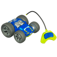 TONKA CHUCK & FRIENDS FLIP THE BOUNCE BACK RACER Vehicle (Blue and Green)