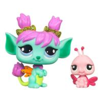 LITTLEST PET SHOP Fairies GLISTENING GARDEN Tulip Fairy Set