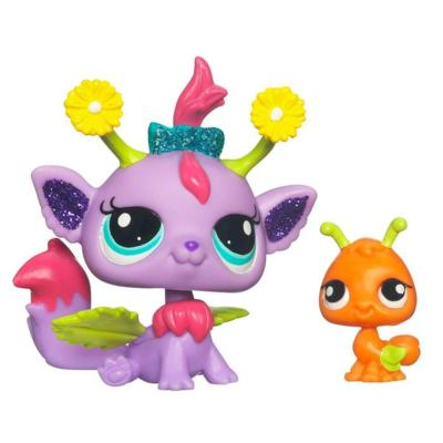 LITTLEST PET SHOP Fairies GLISTENING GARDEN Daisy Fairy Set