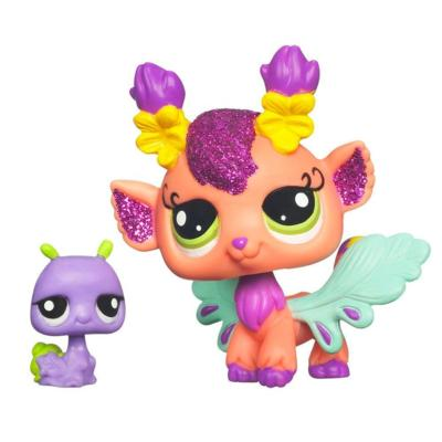 LITTLEST PET SHOP Fairies GLISTENING GARDEN Honeysuckle Fairy Set