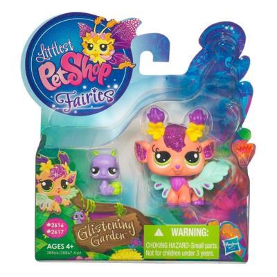 LITTLEST PET SHOP Fairies GLISTENING GARDEN Honeysuckle Fairy Set