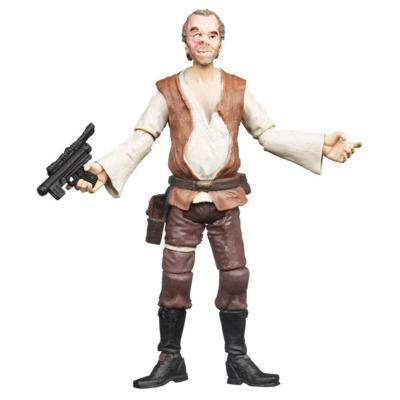 STAR WARS The Vintage Collection DR. EVAZAN (Cantina Patron) Figure
