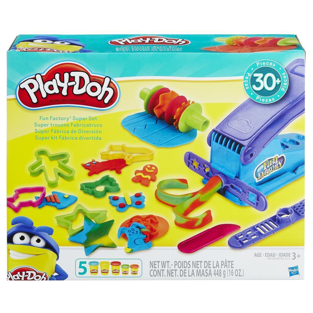 Play-Doh Fun Factory Super Set Toy