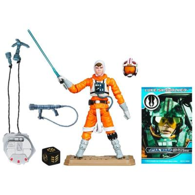 STAR WARS Movie Heroes LUKE SKYWALKER Figure