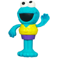 PLAYSKOOL SESAME STREET Cookie Monster Silly Swimmer