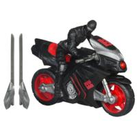 G.I. JOE RETALIATION NINJA SPEED CYCLE Vehicle with SNAKE EYES Figure