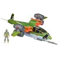 "G.I. JOE RETALIATION GHOST HAWK II VTOL Vehicle with CONRAD ""DUKE"" HAUSER Figure"