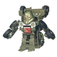 TRANSFORMERS BOT SHOTS Battle Game Series 1 MEGATRON Vehicle