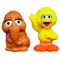 PLAYSKOOL SESAME STREET Snuffleupagus & Big Bird 2-Pack
