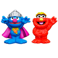 PLAYSKOOL SESAME STREET Super Grover & Murray 2-Pack