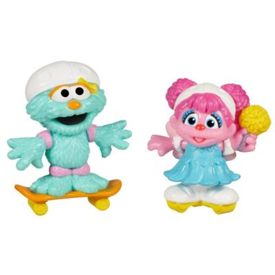 PLAYSKOOL SESAME STREET Skating Friends Abby Cadabby & Rosita 2-Pack