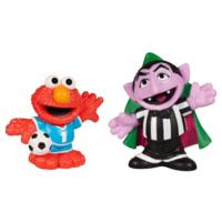 PLAYSKOOL SESAME STREET Soccer Friends Count Von Count & Elmo 2-Pack