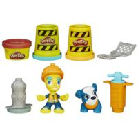 Play-Doh Town Road Worker and Pup
