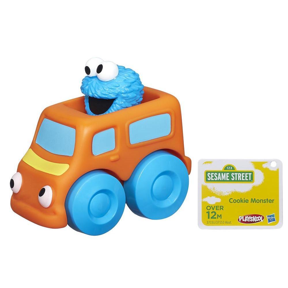 Playskool Sesame Street Wheel Pals Cookie Monster Vehicle