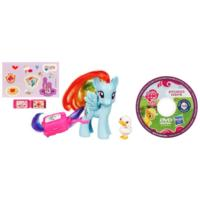 MY LITTLE PONY RAINBOW DASH Figure with DVD