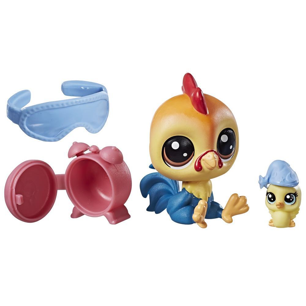 Littlest Pet Shop Rick Chickencluck.Sunny Chickencluck