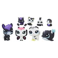 Littlest Pet Shop Black & White Friends