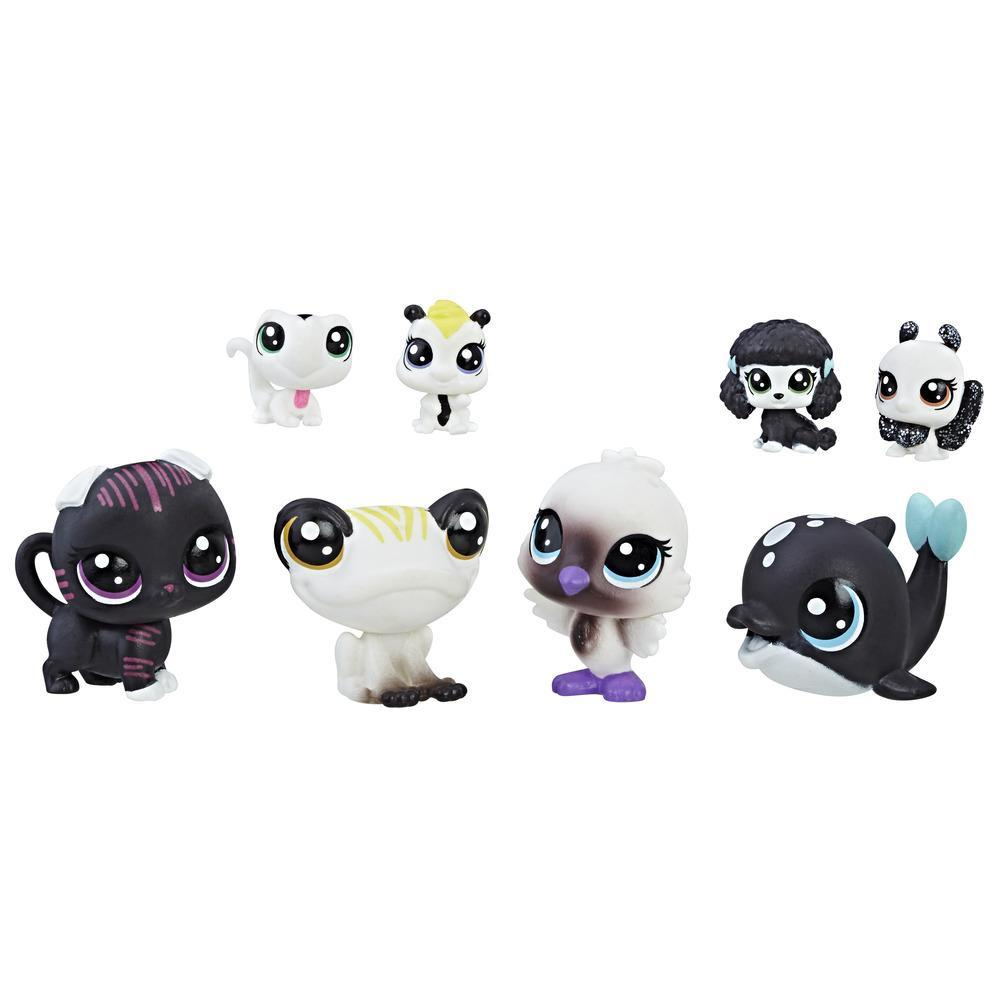 Littlest Pet Shop Black & White Friends