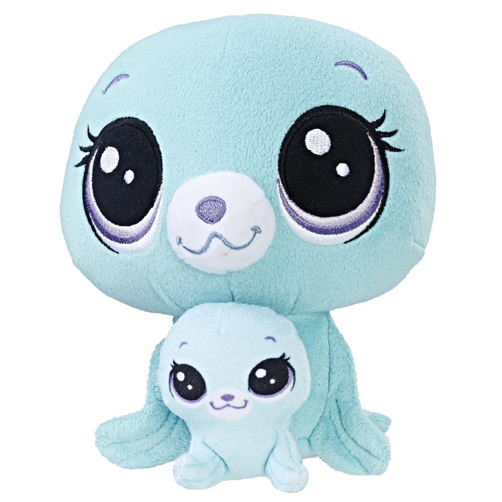 Littlest Pet Shop Vita Arcticson and Pinney Arcticson Plush Pairs