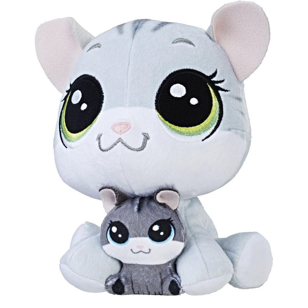 Littlest Pet Shop Tabsy Felino and Holiday Felino Plush Pairs